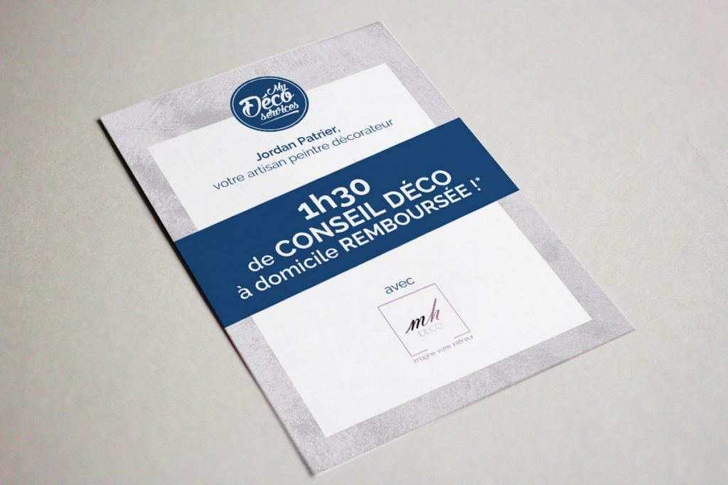 Flyer A5 Strasbourg My Deco Services BeWithYou