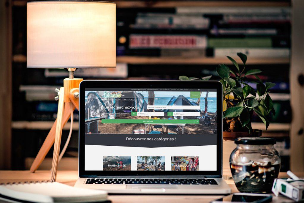 Création du site e-commerce de Lokanoo