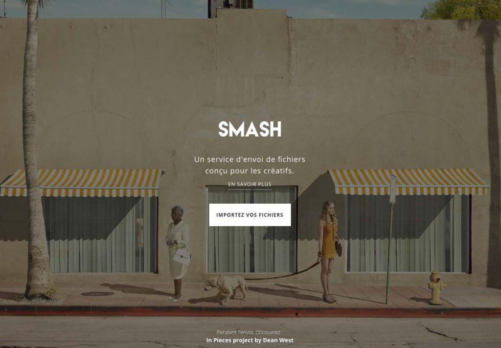 Smash est un outil de transfert de fichier sans limite de taille