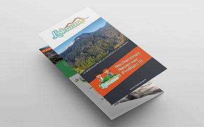 Création de Flyer, Leaflet, Trivolet Lokanoo