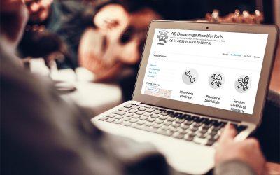 Création du site internet de AB Dépannage Plombier Paris