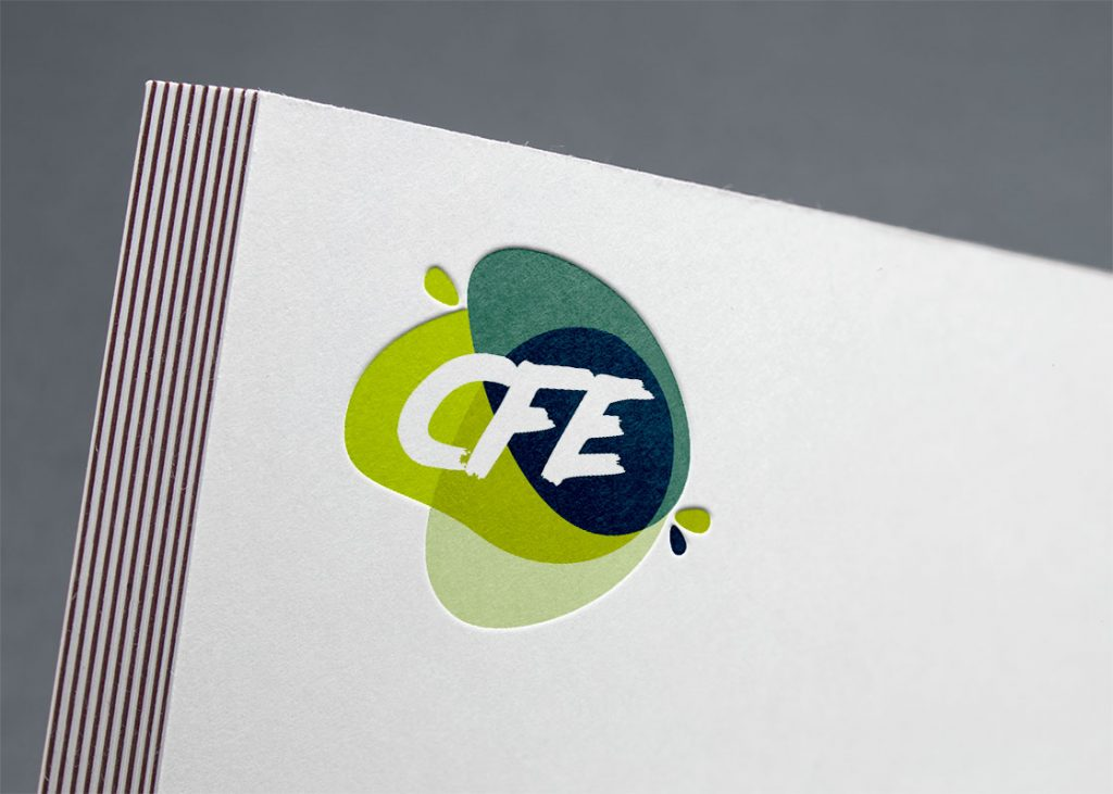 Logo CFE (Conseil Fluide Equipement) Valenciennes BeWithYou