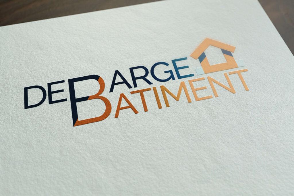 Logo Debarge Bâtimen par BeWithYou