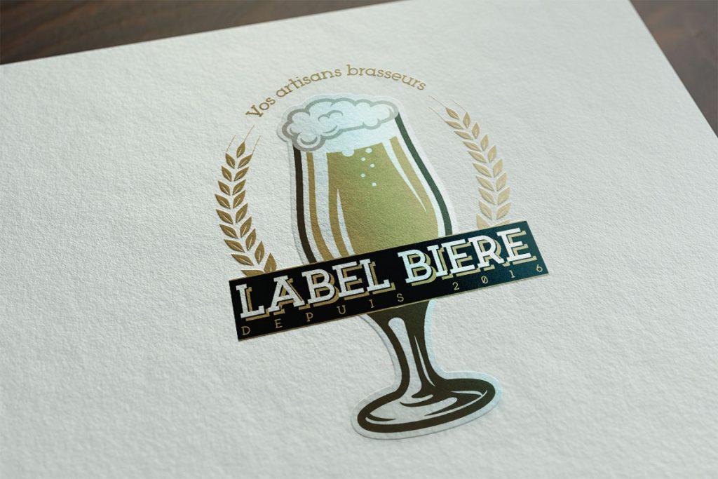 Label Bière Douai Logo BeWithYou