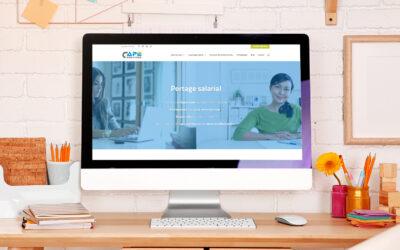 Refonte du site vitrine de CAPE Services