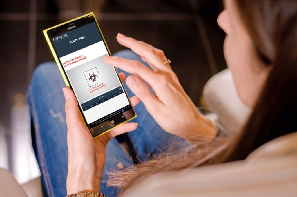Site e-commerce Responsive Mobile Escape Game