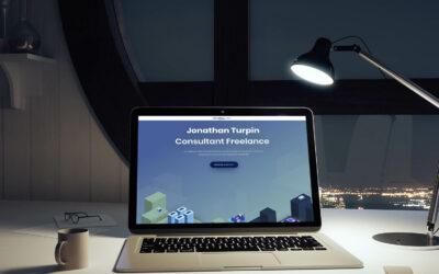 Création du site one-page de Jonathan Turpin